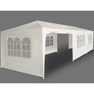 tonnelle paris blanche 3x9m barnum tente r ception achat vente tonnelle barnum tonnelle. Black Bedroom Furniture Sets. Home Design Ideas