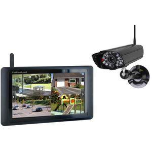 panneau video surveillance achat vente panneau video surveillance pas cher cdiscount. Black Bedroom Furniture Sets. Home Design Ideas