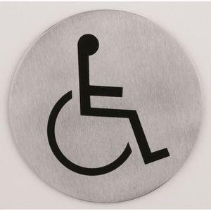 panneau handicape achat vente panneau handicape pas cher cdiscount. Black Bedroom Furniture Sets. Home Design Ideas