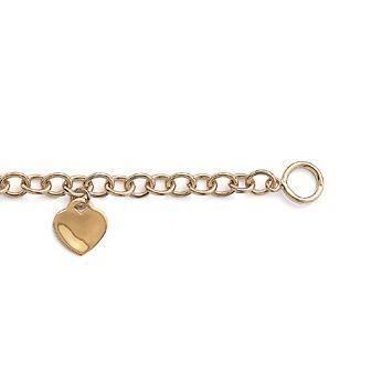 bracelet coeur graver plaqu or achat vente bracelet gourmette bracelet coeur graver. Black Bedroom Furniture Sets. Home Design Ideas