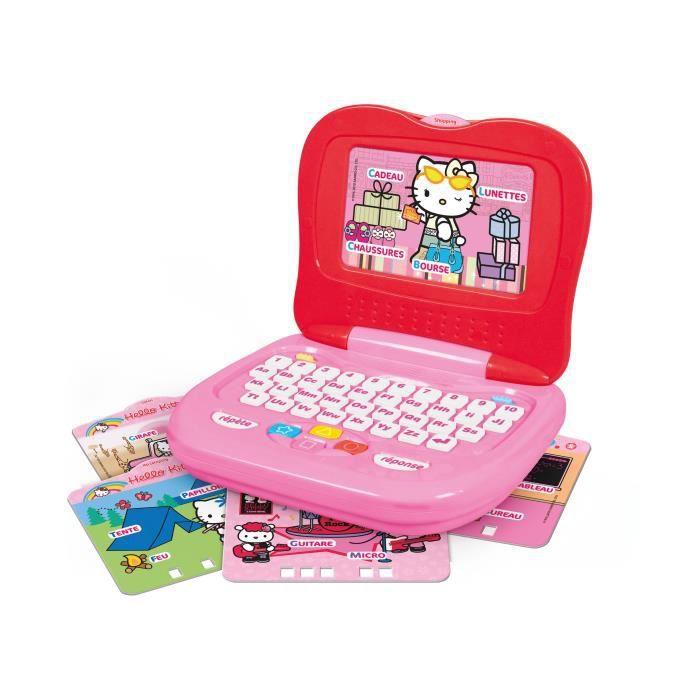 hello kitty ordinateur enfant clementoni achat vente ordinateur enfant cdiscount. Black Bedroom Furniture Sets. Home Design Ideas
