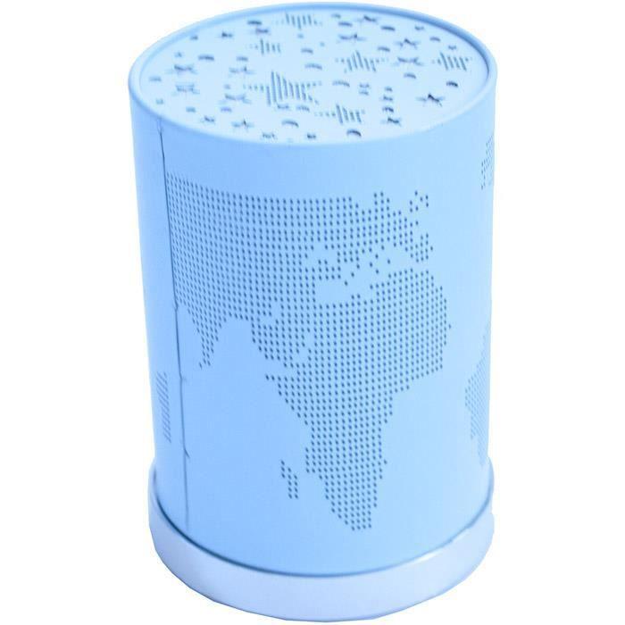 Lampe led couleur changeante veilleuse map bleue achat vente lampe led ve - Lampe couleur changeante ...