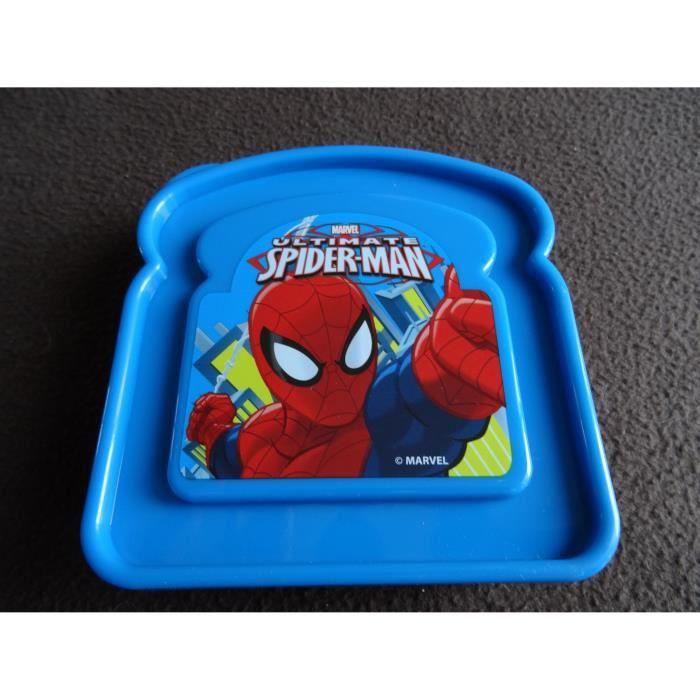 Bo te sandwich gobelet bec spiderman achat vente - Boite a bec ...