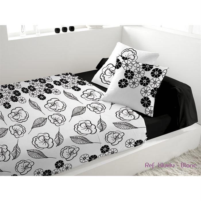parure de lit 5 pi ces xiuxiu blanc achat vente parure de drap soldes d t cdiscount. Black Bedroom Furniture Sets. Home Design Ideas