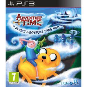 JEU PS3 Adventure Time Secret Du Royaume Sans Nom Jeu PS3
