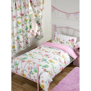 housse de couette oiseau achat vente housse de couette oiseau pas cher cdiscount. Black Bedroom Furniture Sets. Home Design Ideas