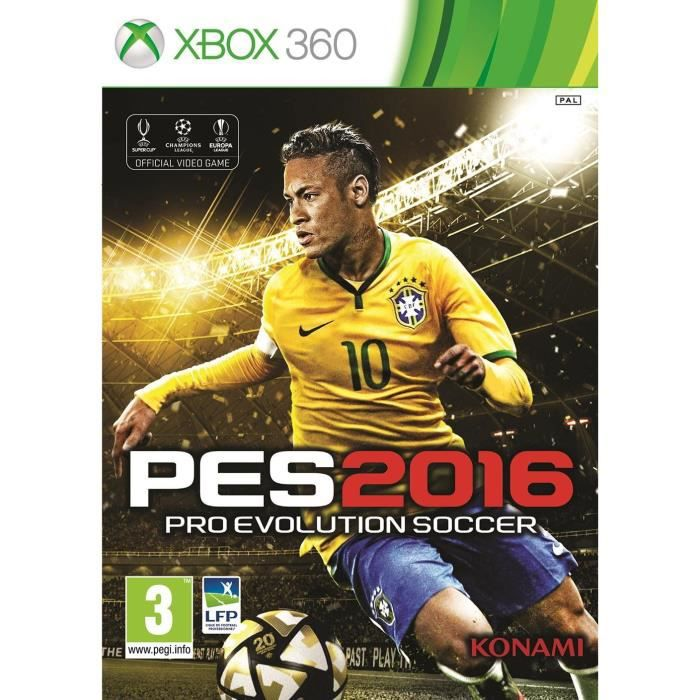 pes 2016 edition day 1 jeu xbox 360 achat vente jeux xbox 360 pes 2016 day 1 xbox 360. Black Bedroom Furniture Sets. Home Design Ideas
