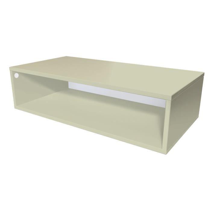 cube de rangement bois longueur 100 cm achat vente petit meuble rangement cube de rangement. Black Bedroom Furniture Sets. Home Design Ideas