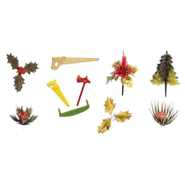 10 sujets pour decorer votre table buche de no l achat vente ustensiles - Decoration buche de noel maison ...