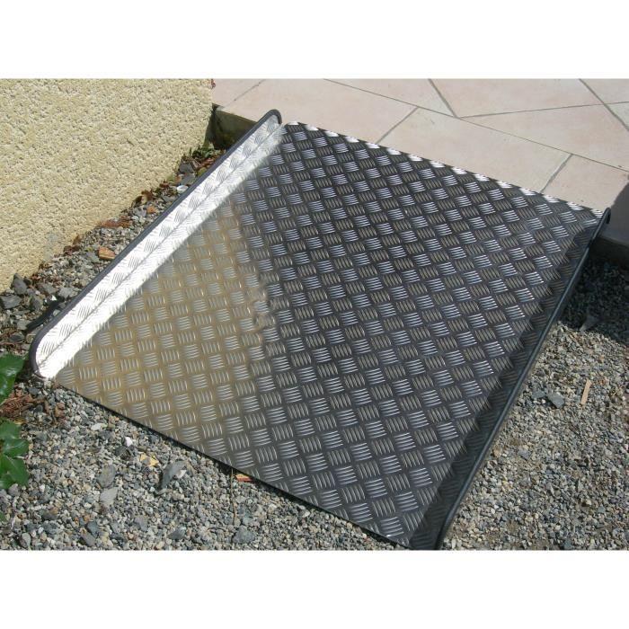 rampe d acces aluminium 1m x 90 cm achat vente rampe