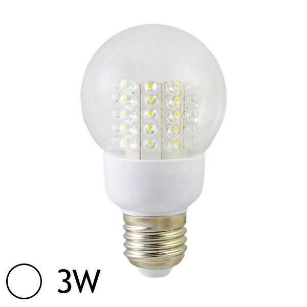 ampoule led 3w e27 bulb blanc jour achat vente ampoule led 3w e27 bulb bla cdiscount. Black Bedroom Furniture Sets. Home Design Ideas