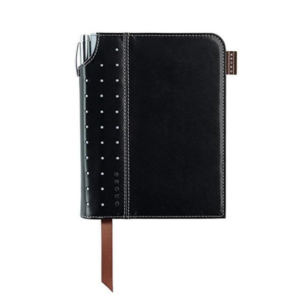 Cross petit journal signature noirgris a6 fournitures de for Fourniture de bureau papeterie