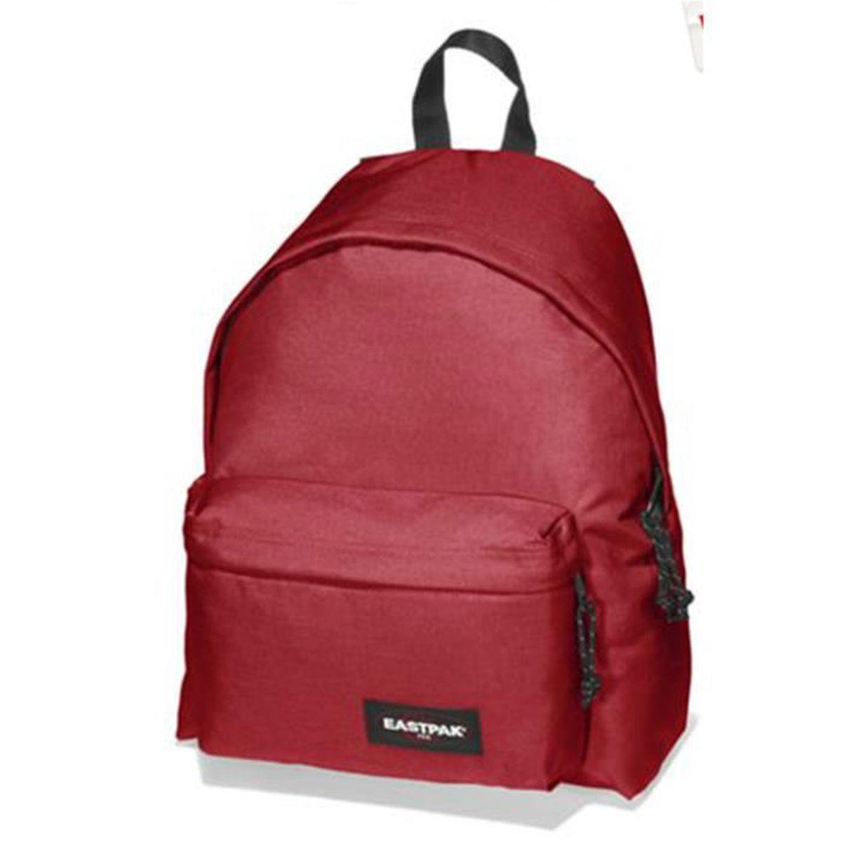 eastpak sac dos ek62053b 21 6l rouge rouge achat. Black Bedroom Furniture Sets. Home Design Ideas