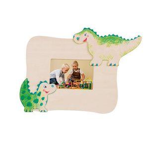 Cadre en bois dinosaure à décorer Henri
