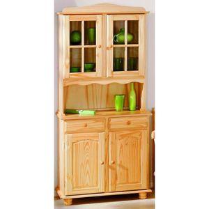 Haut de vaisselier achat vente haut de vaisselier pas cher soldes cdi - Bahut buffet vaisselier ...
