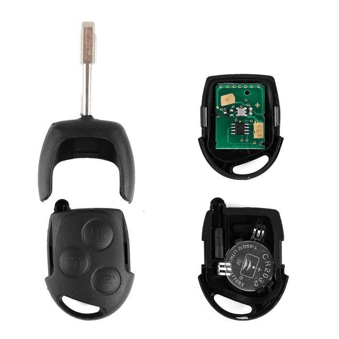 cle telecommande avec circuit electrique pour ford mondeo ka transit 433 mhz achat vente. Black Bedroom Furniture Sets. Home Design Ideas