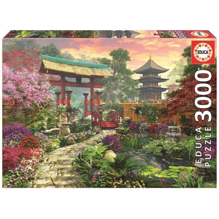 Puzzle jardin japonais achat vente puzzle cdiscount for Achat jardin japonais