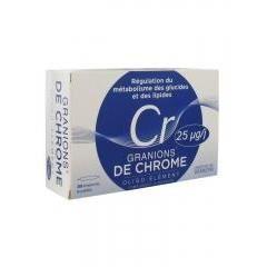 Granions de Chrome 25 mcg 30 Ampoules - Achat / Vente