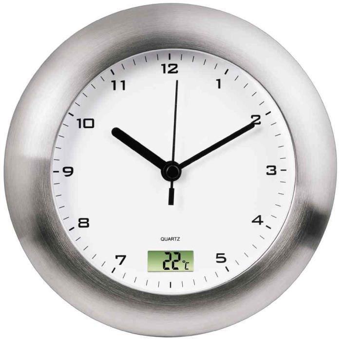 horloge horloge murale salle de bain horloge - Pendule Salle De Bain