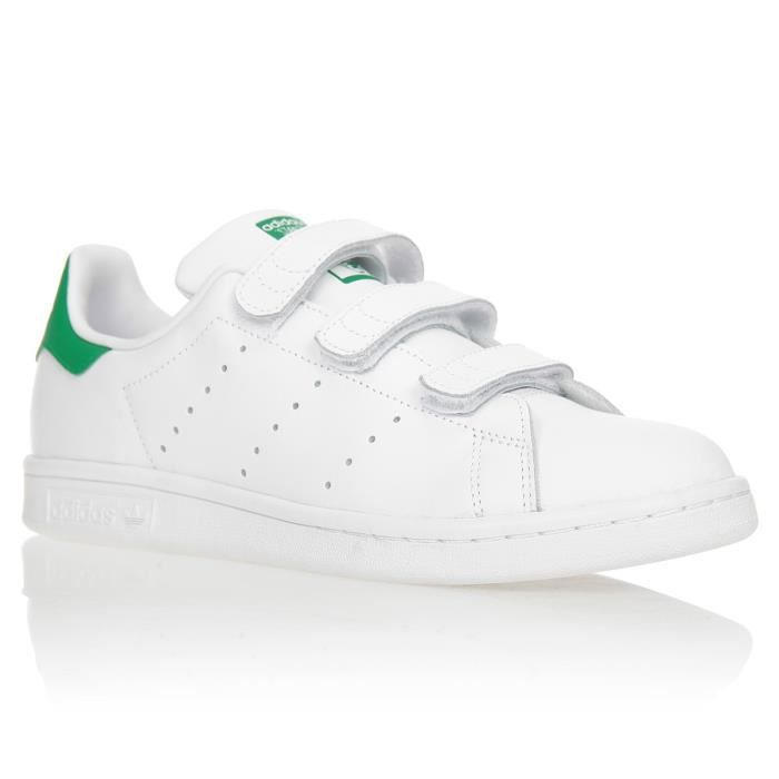 basket adidas originals stan smith junior ref s82702 blanc achat vente basket cdiscount. Black Bedroom Furniture Sets. Home Design Ideas