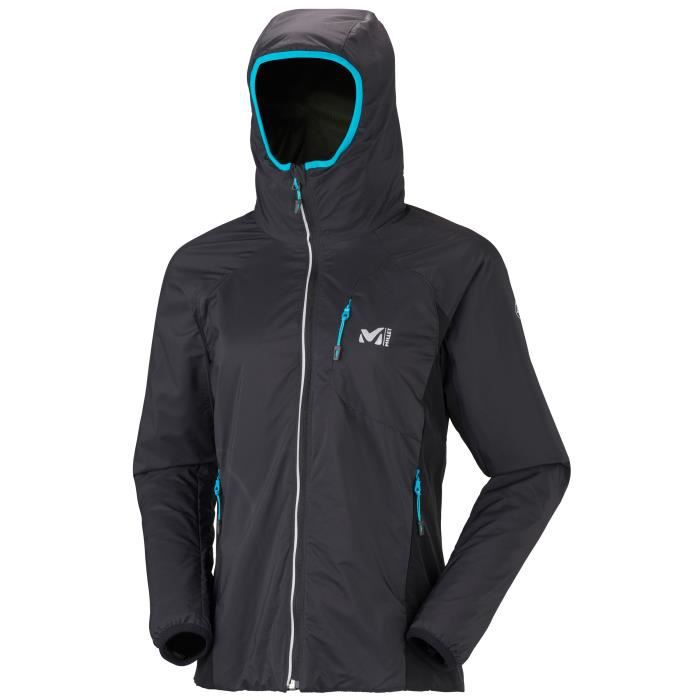 veste gore tex millet ld touring alpha hoodie femme noir achat vente veste de sport cdiscount. Black Bedroom Furniture Sets. Home Design Ideas