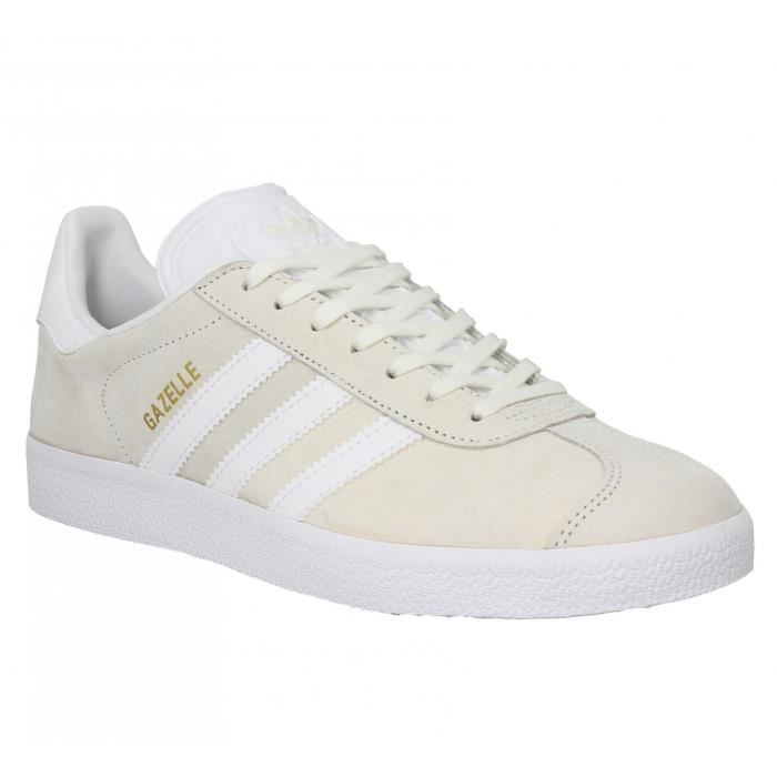 baskets adidas gazelle 41 1 3 off white off white achat vente basket cdiscount. Black Bedroom Furniture Sets. Home Design Ideas