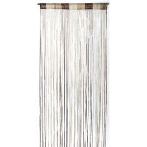 rideaux fil beige achat vente rideaux fil beige pas cher cdiscount. Black Bedroom Furniture Sets. Home Design Ideas