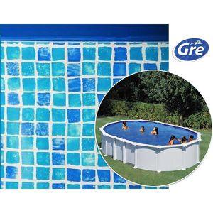 liner piscine hors sol oval achat vente liner piscine hors sol oval pas cher cdiscount. Black Bedroom Furniture Sets. Home Design Ideas