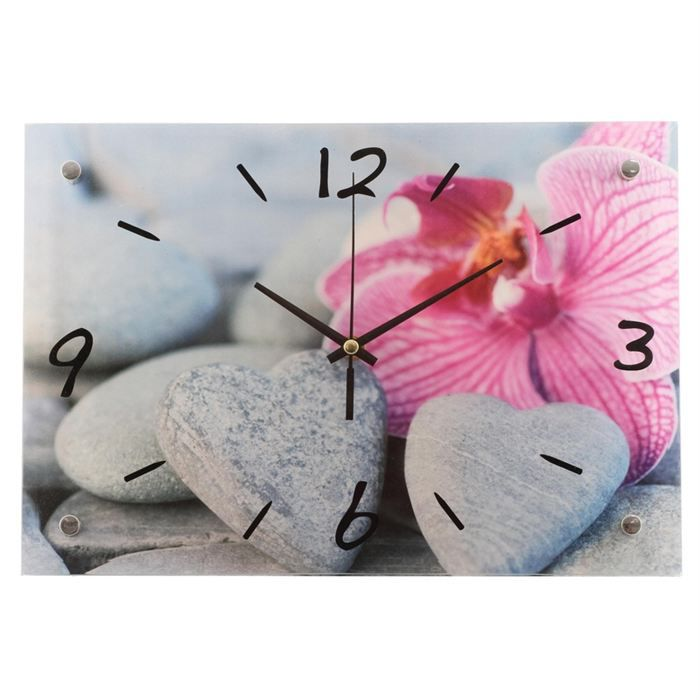 horloge coeur zen achat vente horloge cdiscount