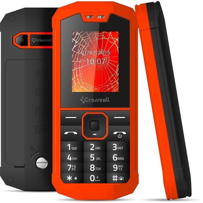 mobile tanche ip67 spider x1 pack pro orange crosscall. Black Bedroom Furniture Sets. Home Design Ideas