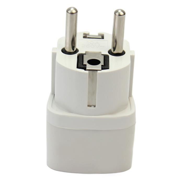 Adaptateur plug convertisseur prise secteur voyage us uk au vers ue socket achat vente - Adaptateur prise uk ...