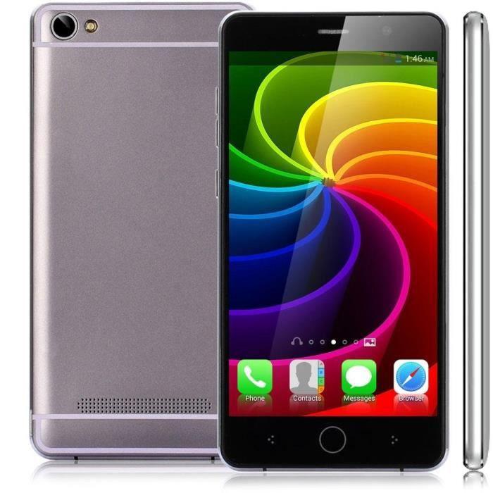 3g t l phone portable 5 pouce unlocked android 4 4 achat smartphone pas cher avis et meilleur. Black Bedroom Furniture Sets. Home Design Ideas