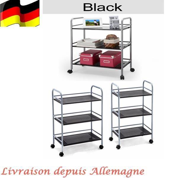 3 4 Etag Re De Rangement Storage Chariot Roulant Pour