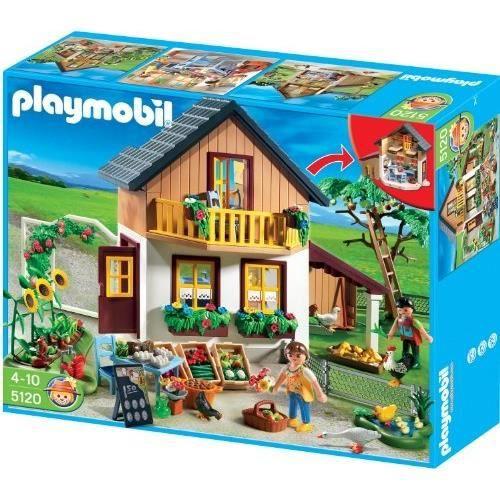 Playmobil 5120 jeu de construction maison achat for Modele maison playmobil