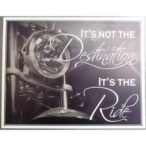 Deco plaques fer ou plaque emaillee  Plaque-publicitaire-this-is-not-the-destination-es