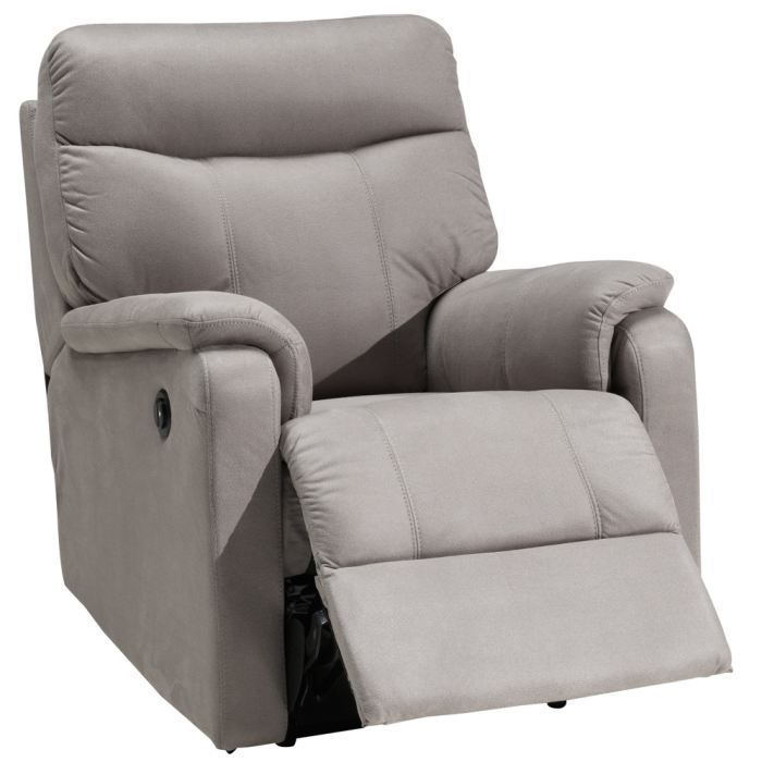 fauteuil relaxation 1 place switsofa malta gris achat. Black Bedroom Furniture Sets. Home Design Ideas