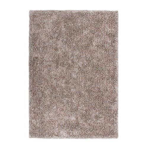 lalee 347193172 tapis de cr ateur shaggy fait main beige. Black Bedroom Furniture Sets. Home Design Ideas