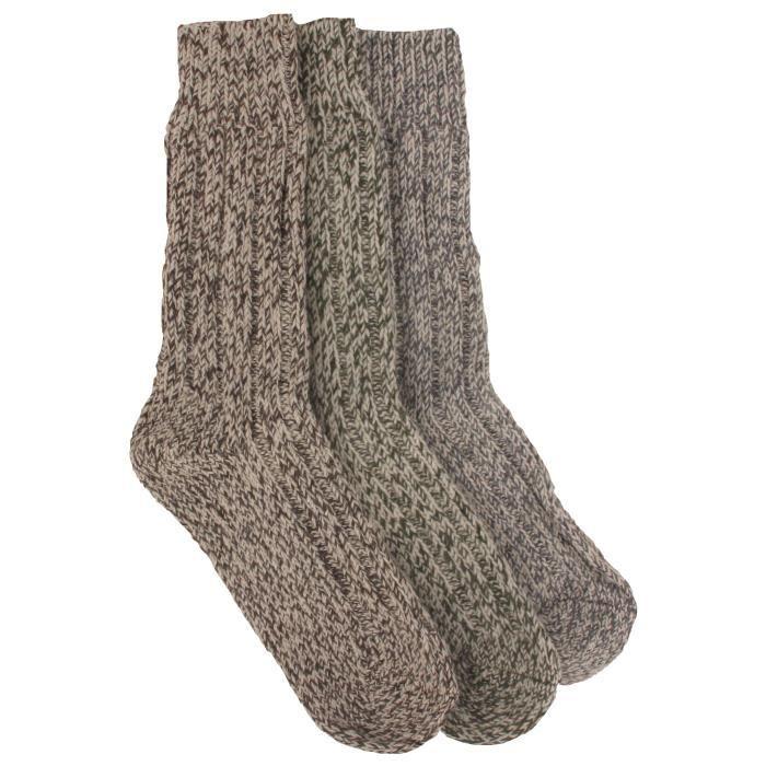 chaussettes de ski homme lot de 3 prix pas cher cdiscount. Black Bedroom Furniture Sets. Home Design Ideas