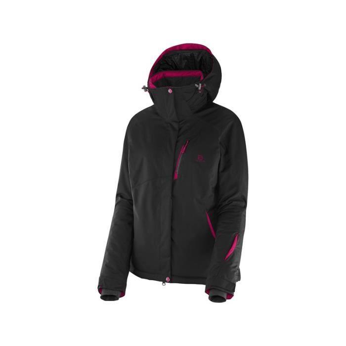 veste ski femme noire veste de ski killy lovely fur noire. Black Bedroom Furniture Sets. Home Design Ideas