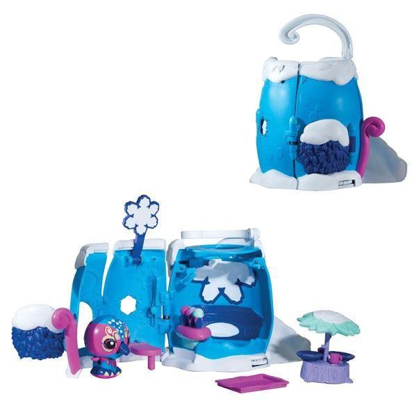 zoobles maison pop up arctic inn bleu achat vente univers miniature zooble maison pop up. Black Bedroom Furniture Sets. Home Design Ideas