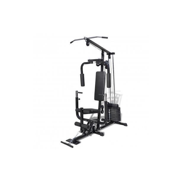 Superbe banc de musculation station de musculation prix pas cher cdiscount - Station de musculation pas cher ...