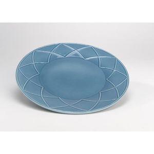 Assiettes plates bleu achat vente assiettes plates - Assiettes plates pas cher ...