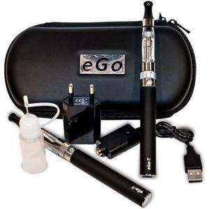 CIGARETTE ÉLECTRONIQUE coffret kit  2  e-cigarette EGO-T CE4 **1100mAh***