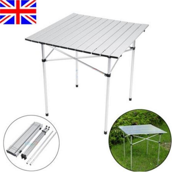 Table Aluminium Jardin Camping Randonn E Pique Nique