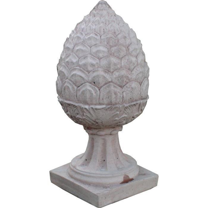 chapeau de pilier pomme de pin achat vente statue statuette chapeau de pilier pomme de. Black Bedroom Furniture Sets. Home Design Ideas