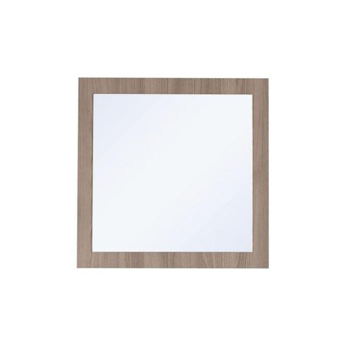 Miroir encadrement couleur ch ne gris achat vente for Encadrement miroir