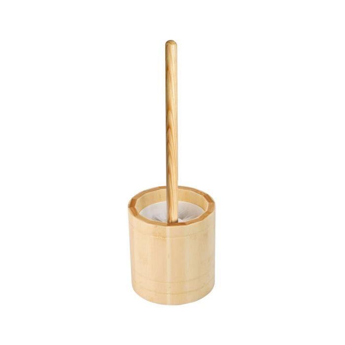 brosse wc bois achat vente brosse wc bois pas cher les soldes sur cdiscount cdiscount. Black Bedroom Furniture Sets. Home Design Ideas