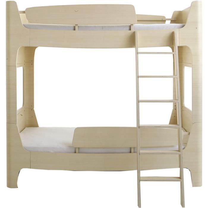 lit superpos 90x200 jannis coloris fr ne barri re chelle gauche achat vente lits. Black Bedroom Furniture Sets. Home Design Ideas