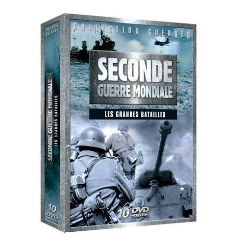 dvd coffret 2 me guerre mondiale en dvd documentaire pas cher cdiscount. Black Bedroom Furniture Sets. Home Design Ideas