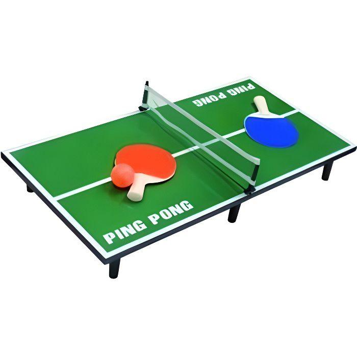 mini tennis de table 39 39 ping pong 39 39 60 x 30 cm achat vente table jouet d 39 activit soldes. Black Bedroom Furniture Sets. Home Design Ideas